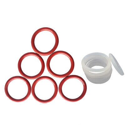 AU3.09 • Buy Food Safe Silicone O Ring OD 8mm-80mm, 2mm Wire Diameter O Rings Seals Red/White