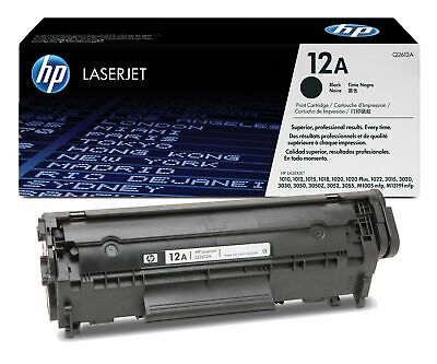 $ CDN61.91 • Buy Genuine HP Q2612A (12A) Black Toner Cartridge | FREE 🚚 DELIVERY