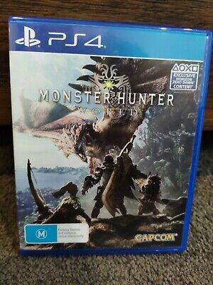 AU22 • Buy Monster Hunter: World (Sony PlayStation 4, 2018)