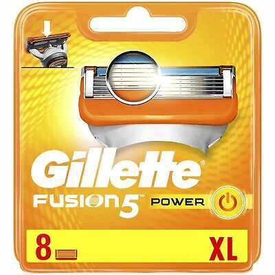 Gillette Fusion 5 Power 8 XL Razor Blades (8 Pack) | FREE 🚚 DELIVERY • 13.95£