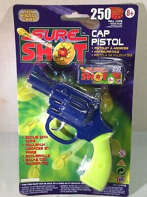 Children's Toy Sure Shot Cap Gun 13171716 Type 1 • 5.99£