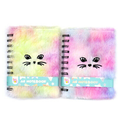 A6 Fluffy Furry Cuddly Writing Notebook - Meow, 120 Pages • 4.95£