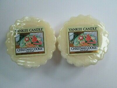 2 CHRISTMAS COOKIE Yankee Candle Wax Melt Tarts. • 3.99£