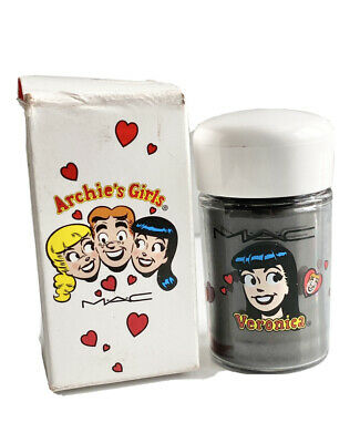 $37.88 • Buy NEW M·A·C Archie's Girls Black Poodle Limited Edition Pigment In Box RARE