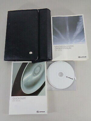 Owner's Manual On CD + Wallet Lexus Rx 450 H Hybrid Printed 01/2009 • 62.69£