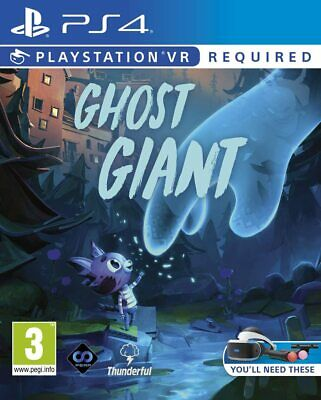 AU98 • Buy Ghost Giants VR Sony PS4 Family Kids Puzzle Solving Sandbox Adventure Game