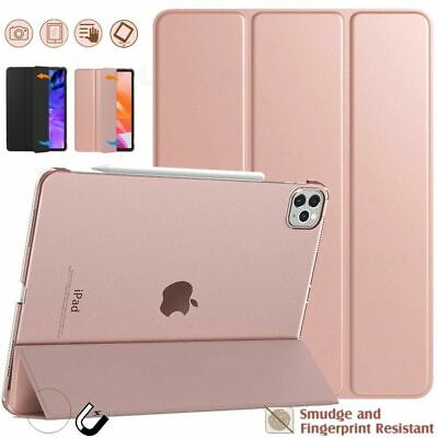 AU16.59 • Buy Smart Case Cover Slim Leather Hard Stand For IPad Air4 Pro 11  12.9  2018 / 2020