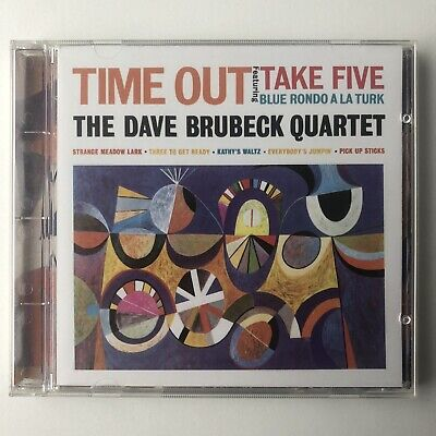 The Dave Brubeck Quartet - Time Out Master Sound 24k Gold CD • 35£