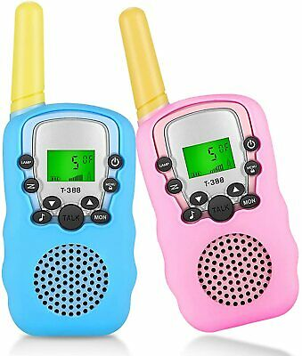 $ CDN25.20 • Buy Walkie Talkies For Kids 22 Channels 2 Way Radio Kid Toy Gift 3 KMs Long Range Wi