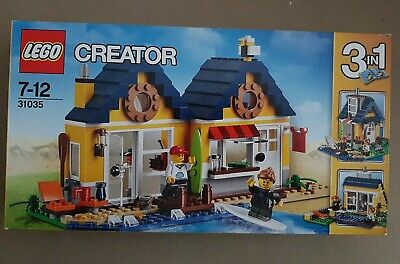 New Sealed Rare Lego 31035 Creator Set Beach Hut 3 In 1 • 37.50£