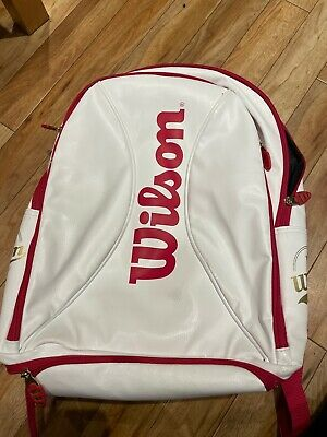 Wilson Tennis Backpack 100 Year White Gold. • 50£