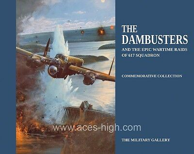 The Dambusters And 617 Squadron Fine Art Illustrated Book • 25.02£