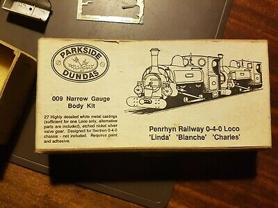 Parts For OO9 Narrow Gauge Penrhyn Railway 0-4-0 Loco (inc Chassis & Motor) • 35.99£