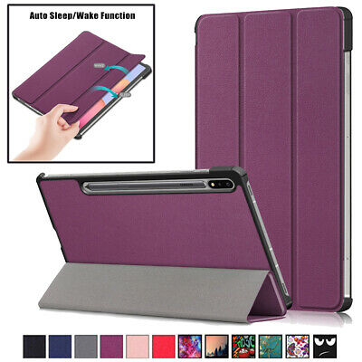Smart Tablet Cover Stand Case For Samsung Galaxy Tab S7 Plus 12.4 T970 T975 2020 • 13.93£