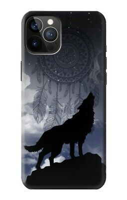 $ CDN20.89 • Buy S3011 Dream Catcher Wolf Howling Case For IPHONE Samsung Smartphone ETC