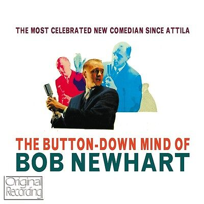 Bob Newhart - The Button Down Mind Of Bob Newhart CD • 2.99£