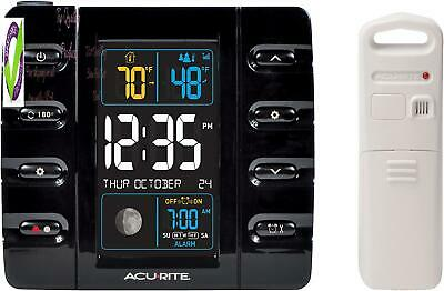 Acurite 13020 Intelli-Time Projection Alarm Clock With Temperature And Usb Charg • 28.51£