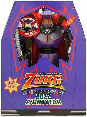 £44.99 • Buy DISNEY Store Toy Story Zurg Interactive Talking And Light Up Action Figure Toys