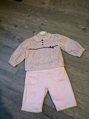 Abella Baby Girls Outfit Age 0-3 Months New Without Tags Gorgeous Romany   • 3.99£
