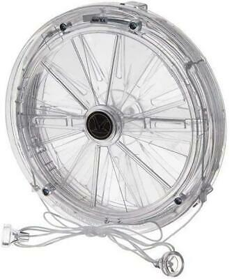Fan Battery Operated Cord 162mm Diameter Model 106 Vent A Matic New Uk • 32.49£