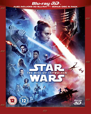 AU44.15 • Buy Star Wars The Rise Of Skywalker 3D Bd Re (UK IMPORT) BLU-RAY NEW