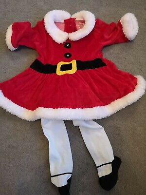 Baby Girls Christmas Outfit 0-3 Months  • 1£