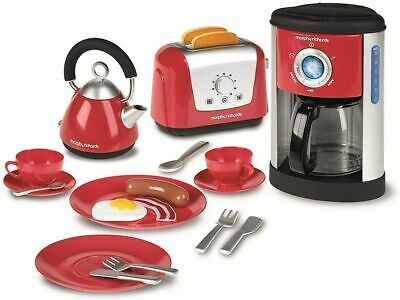 £13.95 • Buy Morphy Richards Kettle & Toaster Play Set Toy Toast Lets Pretend Kitchen Set NEW