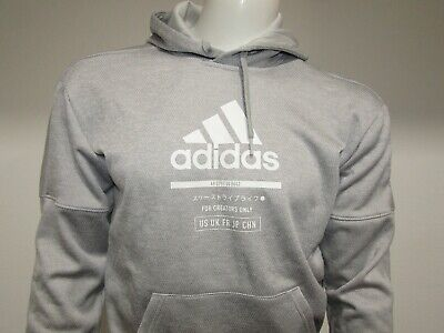 $ CDN11.11 • Buy Adidas For Creators Only Hoodie Hooded Pullover Sweatshirt Mens Size Small