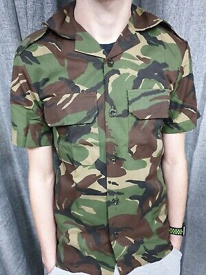£11.99 • Buy Genuine South African Army Military DPM Camo Shirt Military Camouflage Jacket