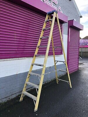 Fiberglass Steps 10 Treads Ladder • 60£