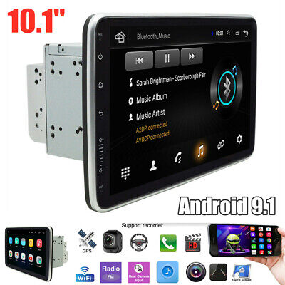 $199.49 • Buy 10.1  2Din Android 9.1 Bluetooth WiFi DVR Car Radio Stereo GPS MP5 Player 1G+16G