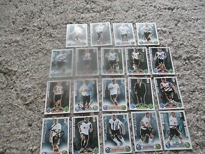 Fulham Fc 19  Players And Manager Signed Match Attax Cards  • 14.99£