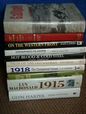 Collection Of Great War Books 1914-1918 1 • 30£
