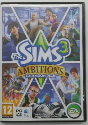 (SHP) The Sims 3 Ambitions PC • 1.25£