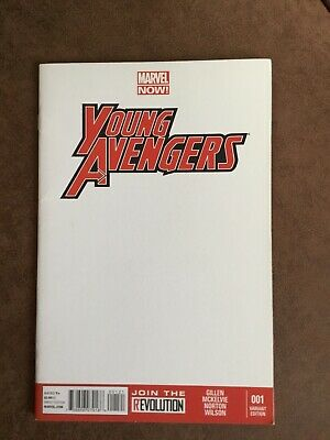 Young Avengers #1 Blank Variant • 4£