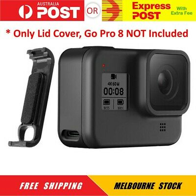 AU9.95 • Buy Battery Lid Door Cover For GoPro Hero 8 Removable Type-C Charging Hole