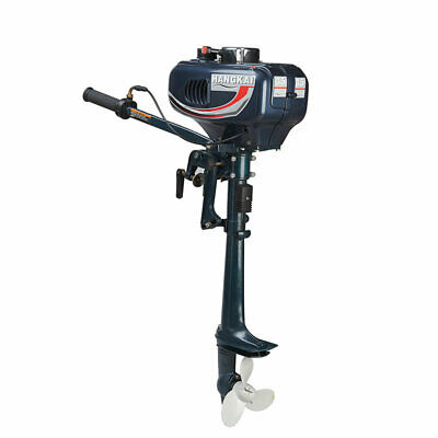AU328 • Buy 3.5 HP Outboard Motor 2 Stroke Boat Engine Water Cooling Maximum Speed 10 Km / H