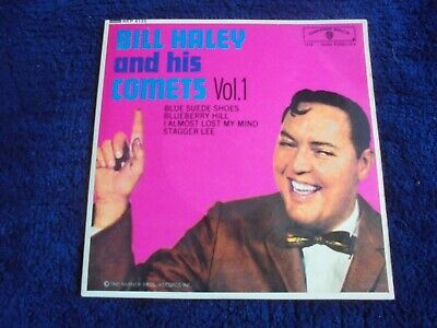 Bill Haley And His Comets - Bill Haley Vol.1 1964 UK EP WARNER BROS • 7.50£