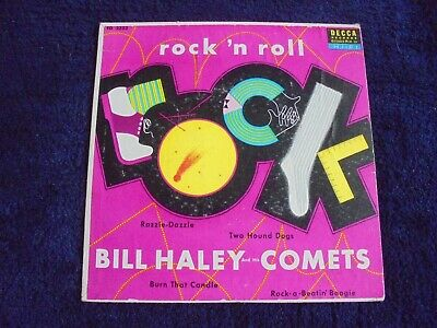 Bill Haley And His Comets - Rock 'N Roll 1955 USA EP DECCA • 5.50£