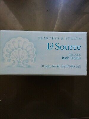 Crabtree And Evelyn La Source Bath Tablets, New In Box  • 21£