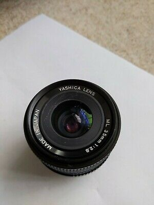 Yashica 35mm F2.8 ML Wide Angle Prime  Lens Contax/yashica Fit • 80£