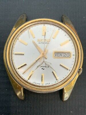 $ CDN1.30 • Buy Vintage Seiko 7009-8129 Gold Filled Men's Automatic Watch