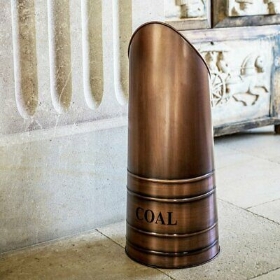 Coal Hod 4 Colours Coal Scuttle Coal Carries Fireplace Accessory Fire Side Coal  • 54.99£