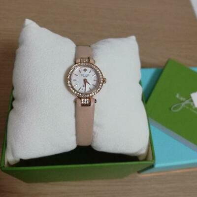 $ CDN179.29 • Buy Kate Spade Jewelry Watch Leather Belt Pink Beige Ladies Used Excellent W/box