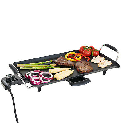 £28.99 • Buy Emperial Electric Teppanyaki Table Top Grill Griddle BBQ Hot Plate Garden
