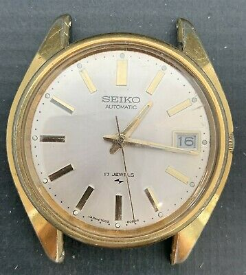 $ CDN15.15 • Buy Vintage Seiko 7005-8027 Gold Filled Men's Automatic Watch