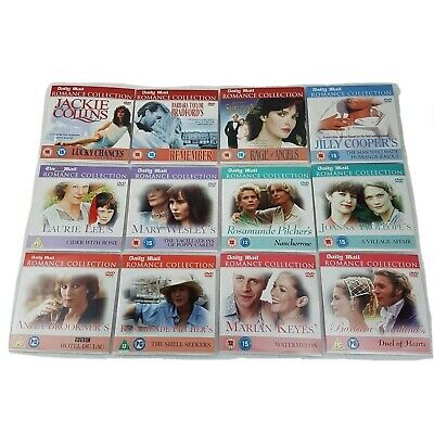 12x Daily Mail Romance Collection Region 2 DVD Promotional Collectable Bundle • 12.99£