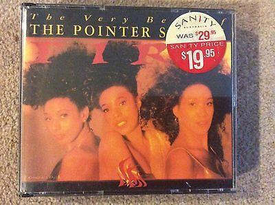 Rare Pointer Sisters Fire The Very Best Of Australia Fatbox 2 CD • 29.99£