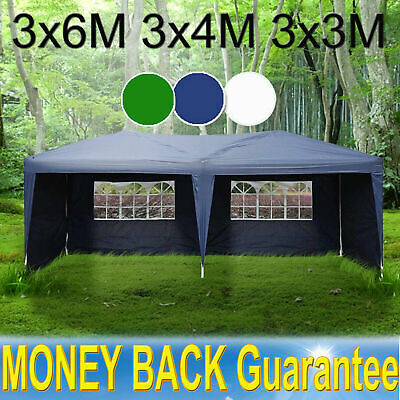 £66.50 • Buy Stronger 3x6M Party Tent Outdoor PE Garden Gazebo Marquee Canopy Awning/Sidewall