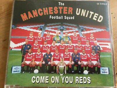 Manchester United CD Single  Come On You Reds  • 0.98£